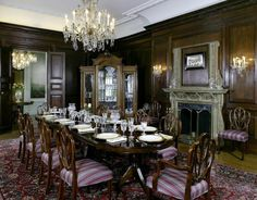 A Very Formal Dining Room.....