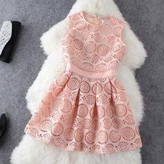 Fashion Pattern Sleeveless Dress