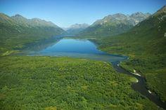 Alaska: Lake in Glacial Valley - Someday!