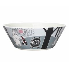 Moomin Adventure move bowl by Arabia - The Official Moomin Shop