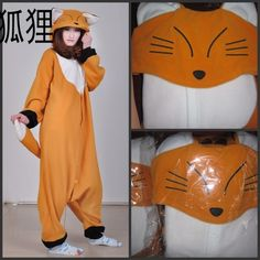 I WANT THIIIISSSSSSSSSSSS eBay | Animals pajamas/pyjamas/onesie/jumpsuit/costume,Corgi/panda/cat/wolf/pikachu/fox