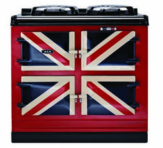 Union jack aga cooker, I bet that I could cook the best apple pie in there!