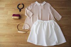 ¿QUÉ ME PONGO? Colores suaves y femeninos en nuestra propuesta #colettemoda de hoy!  BLUSA ROSA CUELLO BEBE > http://www.colettemoda.com/producto/blusa-rosa-cuello-bebe/