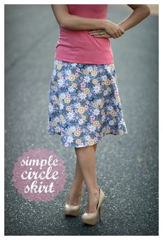 watch out for the woestmans: Simple Circle Skirt Tutorial