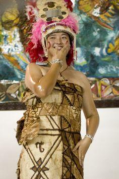 Wedding Destinations: Samoan Wedding Dresses