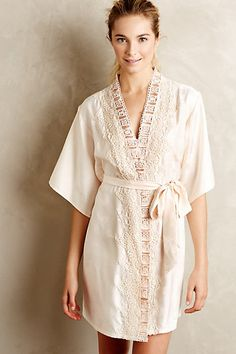 Cambree Jacquard Robe #anthropologie