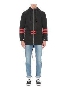 BILLIONAIRE BOYS CLUB Fishtail shell parka jacket