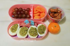 Bentobloggy: Bento #239 - Green Eggs & Ham