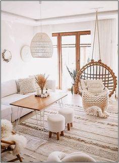 Living Room Decor Cozy, Simple Living Room, Boho Living Room, Home And Living, Living Room Furniture, Modern Living, Boho Room, Dining Rooms, Bedroom Decor