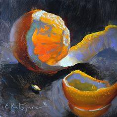 Peeled Orange | Elena Katsyura - Blog