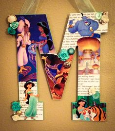 Any letter in Disney Princess Jasmine 11 by SpikaInteriors