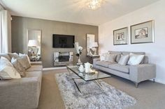 Living room - Taylor Wimpey The Rivington