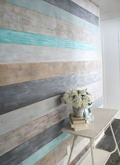 How to DIY a Wood Planked Accent Wall: DIY Wood Wall