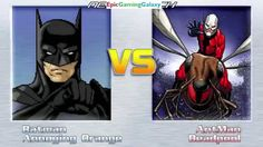 The Annoying Orange And Batman VS Ant-Man And Deadpool In A MUGEN Match / Battle / Fight This video showcases Gameplay of The Annoying Orange And Batman The Superhero VS Ant-Man And Deadpool In A MUGEN Match / Battle / Fight