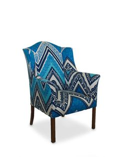One-of-a-Kind Trina Turk Wing Chair by Tiger Lily on Gilt Home