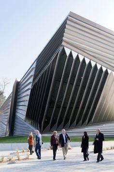 Eli & Edythe Broad Art Museum ZAHA HADID ARCHITECTS