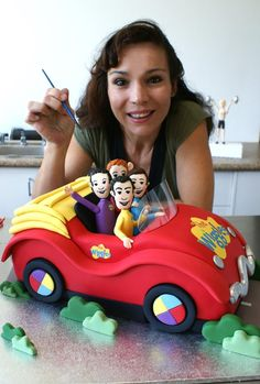 Me and Wiggles Car