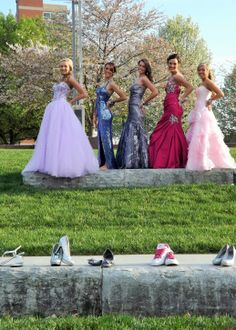 prom shoes photography