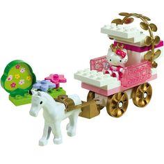 PlayBIG Bloxx Hello Kitty Princess Kutsche - ab zum Ball!