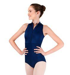 3e54b5c51684 Body Wrappers Adult Power Mesh Zip Front Tank Leotard #discountdance  #ballet #leotard Ballet