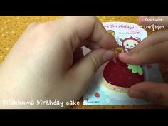[Re-ment] SAN-X) Rilakkuma birthday cake #2 - YouTube Rement, Rilakkuma, Birthday Cake, San, Youtube, Collection, Birthday Cakes, Youtubers, Cake Birthday