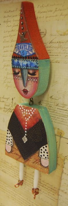 Other Doll Face Ideas..... - Artful Gathering 2014, by Mary Jane Chadbourne