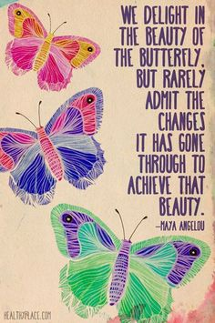 Quotables: Change can be beautiful - Hubub