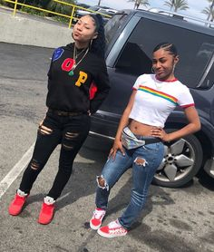on here for more on ig Swag Outfits, Dope Outfits, Trendy Outfits, Girl Outfits, Summer Outfits, Fashion Outfits, Bff Goals, Best Friend Goals, Squad Goals