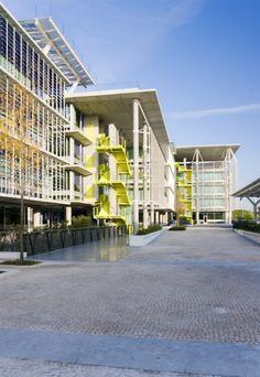 Abengoa Tecnological Campus Palmas Altas – RSH+P & Vidal – Asociados arquitectos