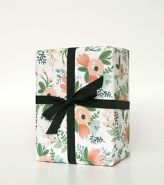"""Rifle Paper Co. """"Wildflower"""" wrapping sheets"""