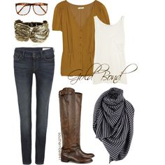 Another must have for fall. This outfit is calling my name!