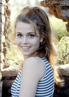 vintage everyday: Beautiful Portraits of Jane Fonda in the 1960s