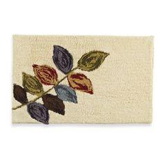Croscill® Mosaic Leaves Bath Rug - BedBathandBeyond.com