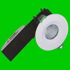 9W 780 Lumen Fire rated down light COB LED 40 Degree IP65