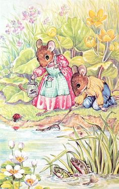 Catching Tadpoles by Audrey Tarrant