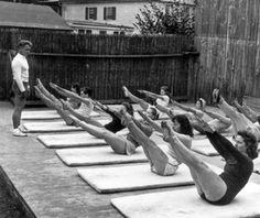 Vintage Joseph Pilates and group Teaser / Vintage Movement <3
