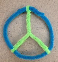 Create a Peace Sign From Pipe Cleaner! Peace Crafts, Fun Crafts, Crafts For Kids, Soul Love Quotes, Best Love Quotes, Girl Scout Troop, Girl Scouts, Hippie Quotes, Emo Quotes