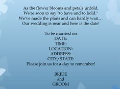 - 15 Samples for Casual Wedding Invitation Wording - EverAfterGuide