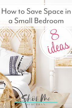 I needed some tips and ideas for how to save space in my small bedroom. This article gave me so much info on tiny bedroom storage and organization hacks! It really helped me maximize the space in my room. #organization #organizinghacks Under Bed Organization, Small Bedroom Organization, Under Bed Storage, Organization Hacks, Organized Bedroom, Organizing, Tiny Bedroom Storage, Cozy Bedroom, Extra Storage Space