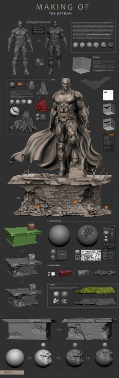 ArtStation - MAKING OF THE BATMAN, Salman Rahman Antar
