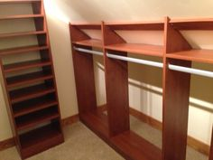 Have an awkward angle in your closet? We can help maximize your storage space! For more information click on the picture or go to our Facebook page for Marco Closets and Storage Solutions!