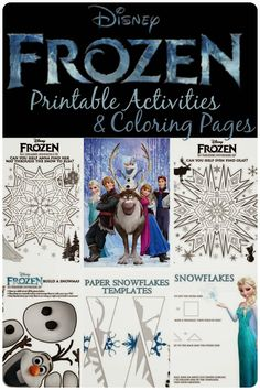 The Frozen movie is out!!!   Here's a lot of fun ideas for a Frozen party! #Frozen