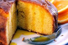 Tortas faciles y caseras: Torta de naranja humeda
