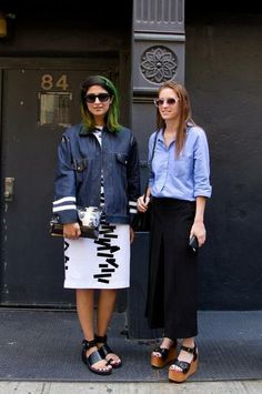 Street Style from New York Fashion Week: Day 2 | StyleCaster