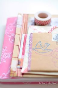 How to make your own Planner by Hanna- creative artist (her blog is inspiring)