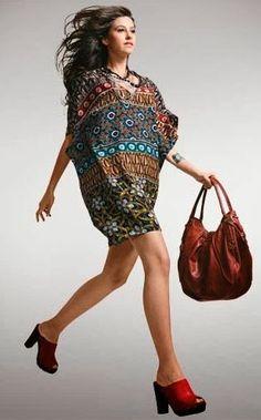 Moldes Moda por Medida: VESTIDO/TÚNICA DECOTE EM V