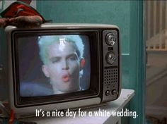 17 Songs That Aren T As You May Think Billy Idol White Weddingwedding