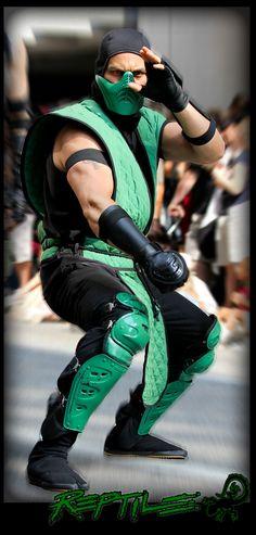 Reptile - Mortal Kombat cosplay by *DANQUISH on deviantART