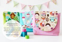 Kindertasche | Kitatasche nach deinem Wunsch ♥ von nähfein auf DaWanda.com