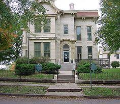The Harvey House in Leavenworth, Kansas